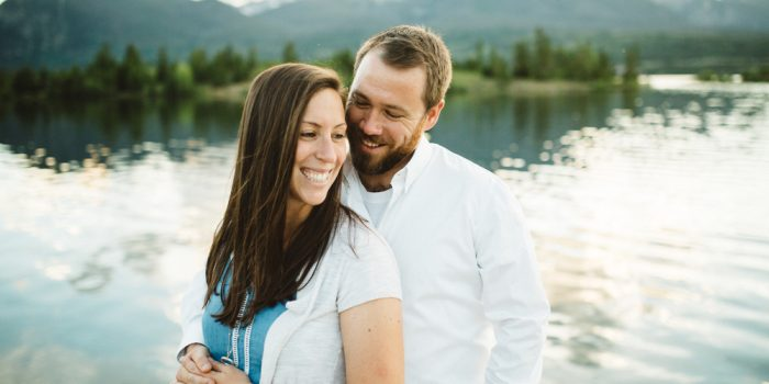 Joanna and Josh // Dillon, Colorado Engagement Session