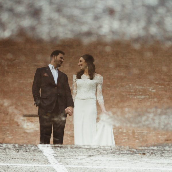 Olivia + Anthony // Winter Elopement in St. Louis