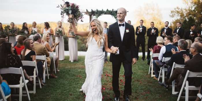 Josie and Tim // Fall Winery Wedding