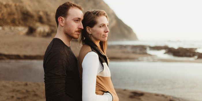 Erin and Blair // Couple Portraits at Alamere Falls