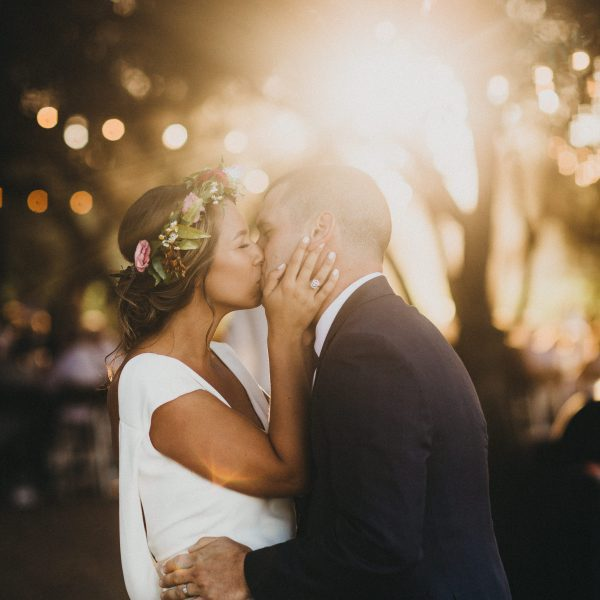 Katy + Elliot // Backyard Vineyard Wedding in St. Helena, CA