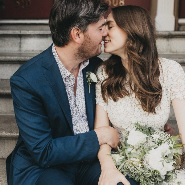 Blair + Connor // Intimate Restaurant Wedding in San Francisco