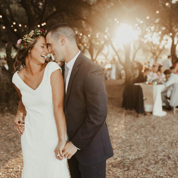 Katy + Elliot // Backyard Vineyard Wedding in St. Helena, CA