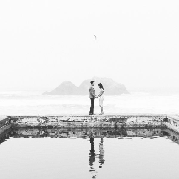 Monica + Emir // Sutro Baths Engagement