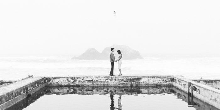 Monica + Emir // Sutro Baths Engagement