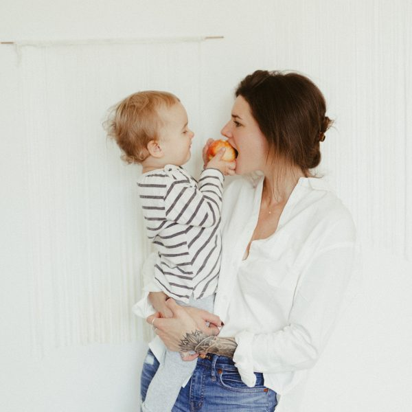 Sam + Isaac // Mom and Son Session at Home