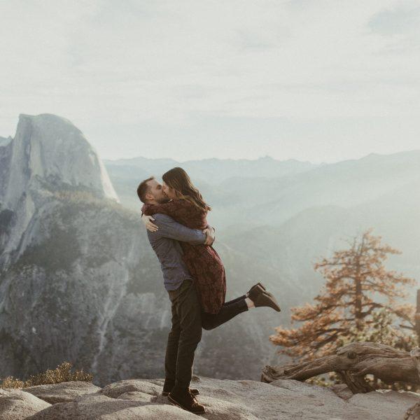 Eric + Annabelle // Yosemite Sunrise Proposal
