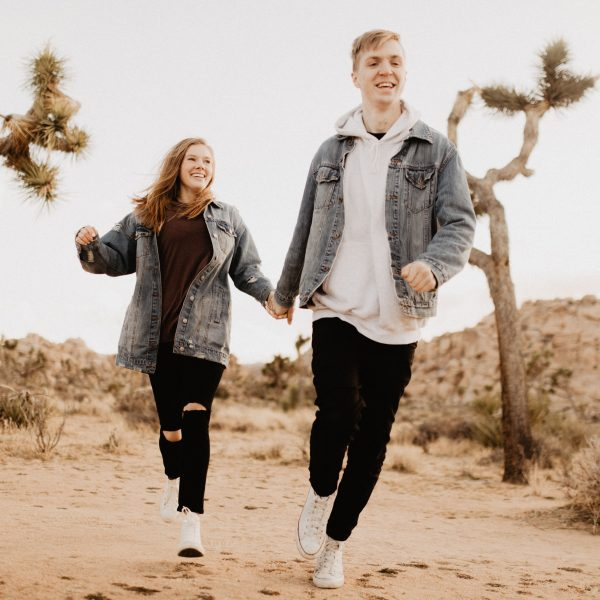 Kent + Jami // Joshua Tree Engagement Session