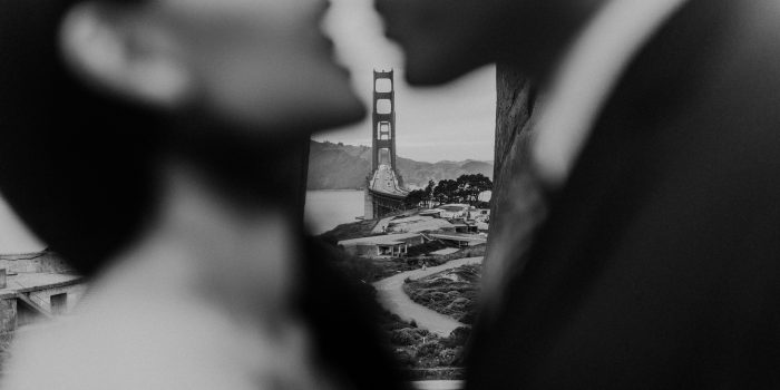 Golden Gate Bridge Engagement // Jessica + Thomas
