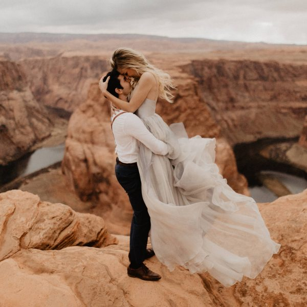 Hannah + Cole // Horseshoe Bend Wedding Portraits