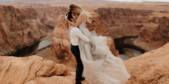 Horseshoe Bend Wedding Portraits // Hannah + Cole
