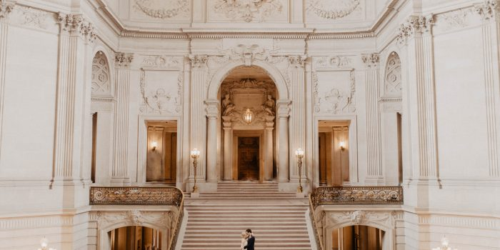Shauna + Ryan // San Francisco City Hall Elopement