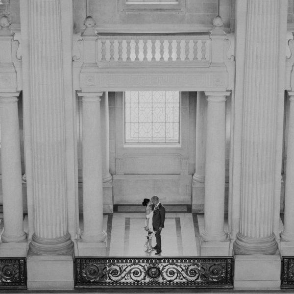 Lisa + Jim // SF City Hall Intimate Wedding
