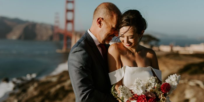 Lisa + Jim // Intimate SF City Hall Wedding