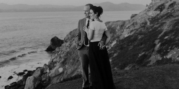 Talia + Cory // Sutro Cliffs Engagement Session