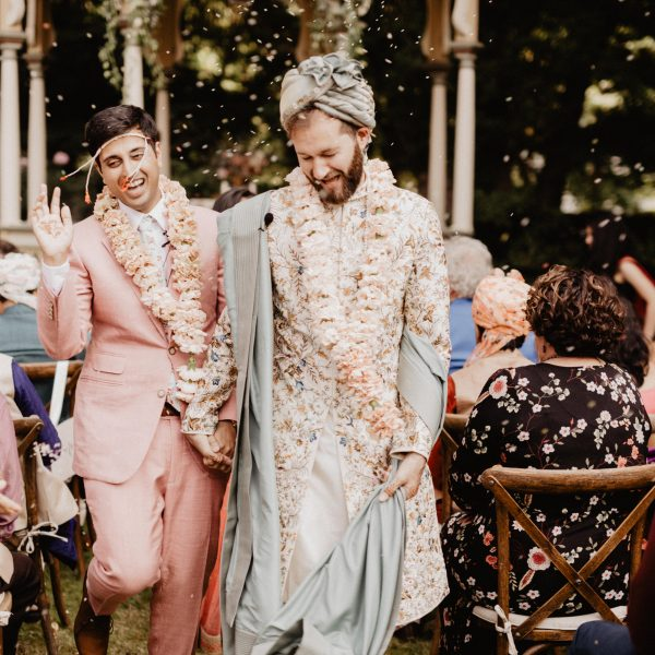 John + Tanay // Backyard DIY Indian Wedding