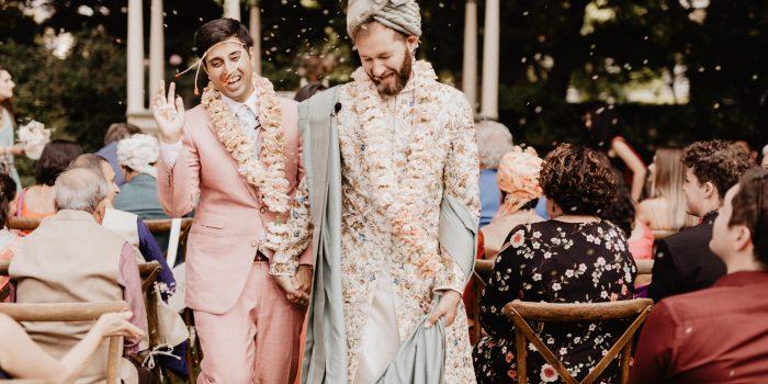 John + Tanay // Backyard DIY Indian Wedding
