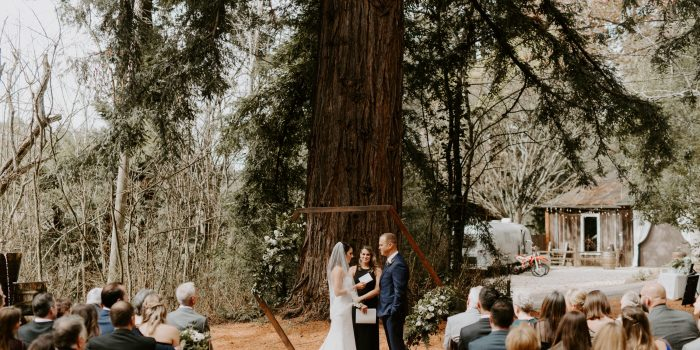 Sand Rock Farm Wedding in Santa Cruz // Talia + Cory