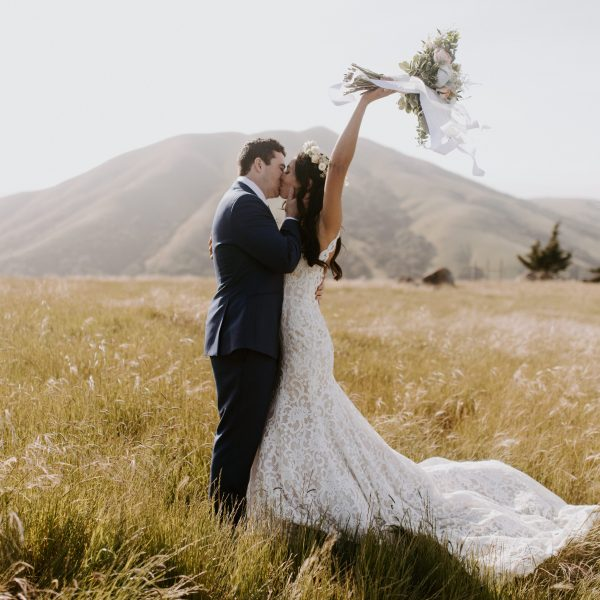 Kat + Ross // Backyard Wedding in Nicasio, CA