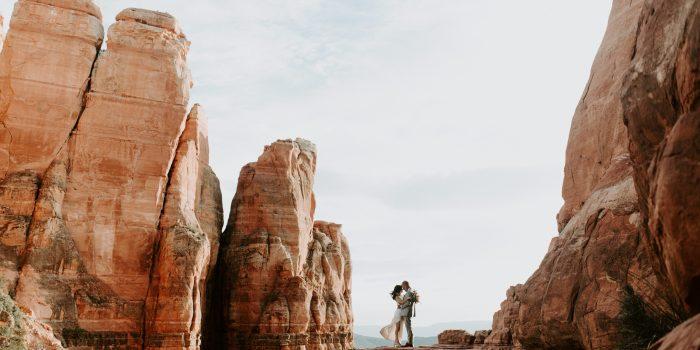 Lisa + Jim // Slide Rock State Park Wedding in Sedona
