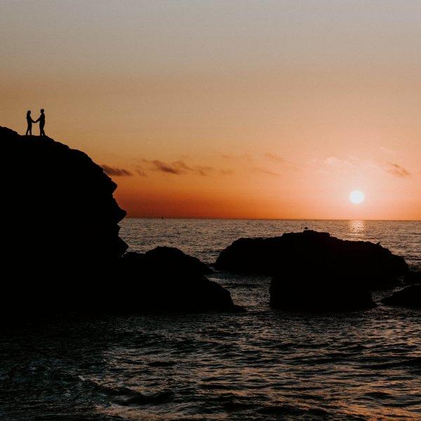 Cait + Spencer // Montara Beach Engagement