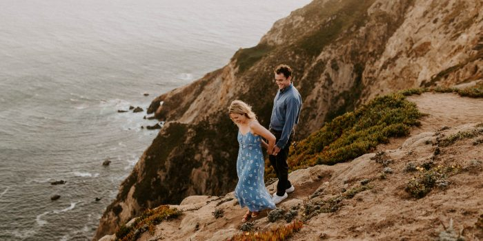 Nancy + Jody // Point Reyes Engagement Session