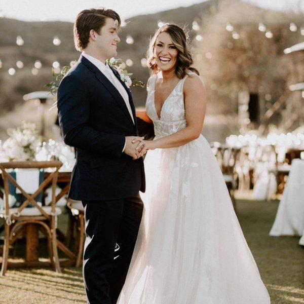 Cassidy + Kevin // Saddle Rock Ranch Wedding in Malibu