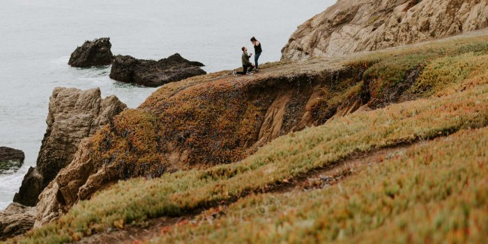 Siam + Michael // Marin Headlands Proposal