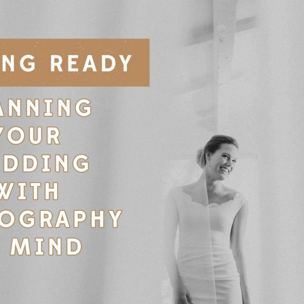 Planning Your Wedding With Photography in Mind: Getting Ready