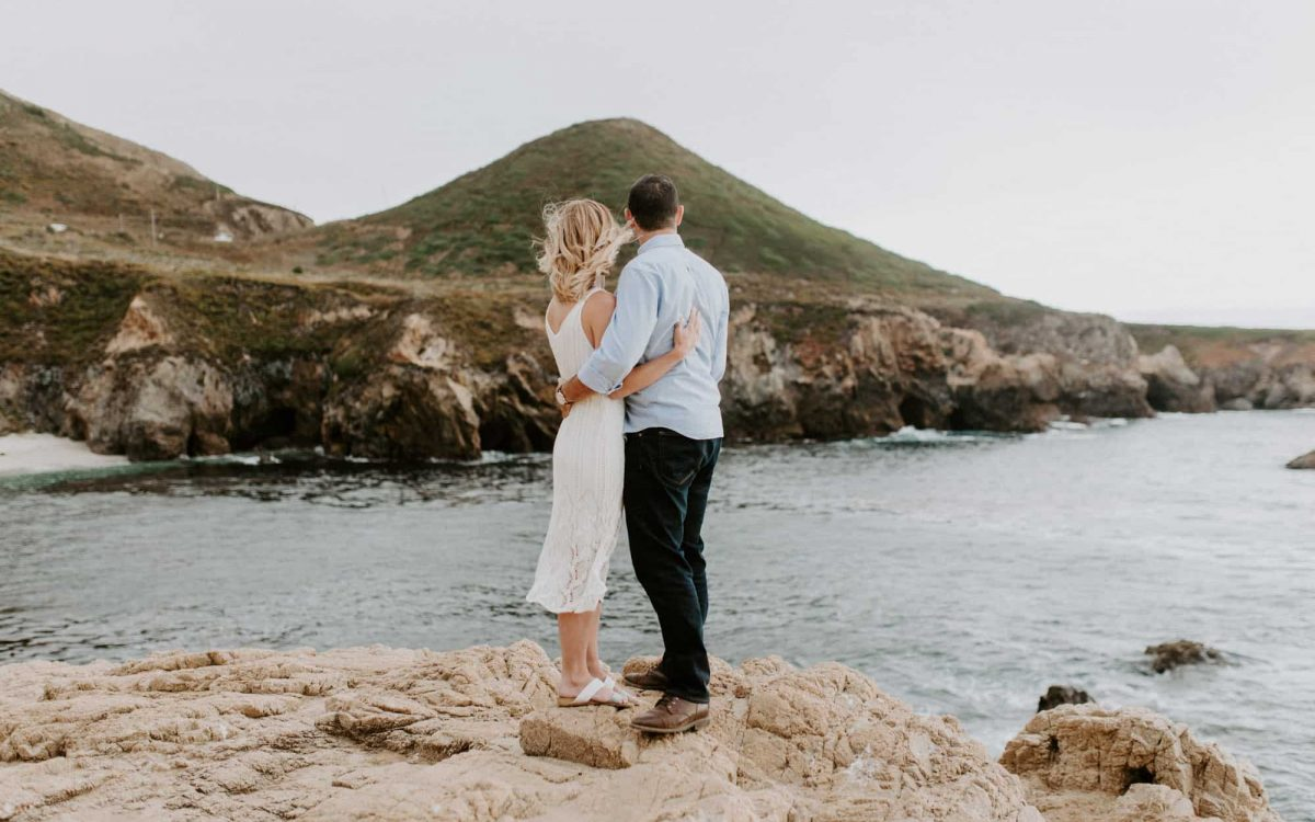 Big Sur Engagement // Patty + Matt