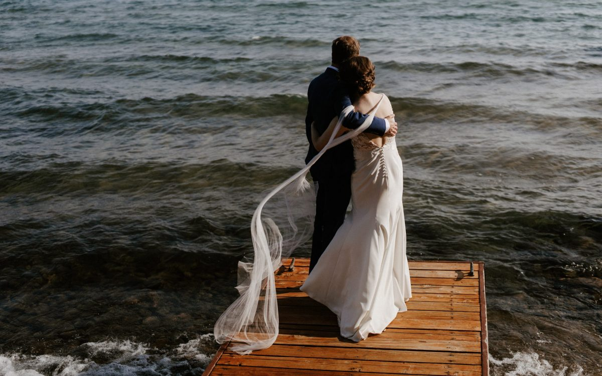 Lake Tahoe Elopement // Sarah + Luke