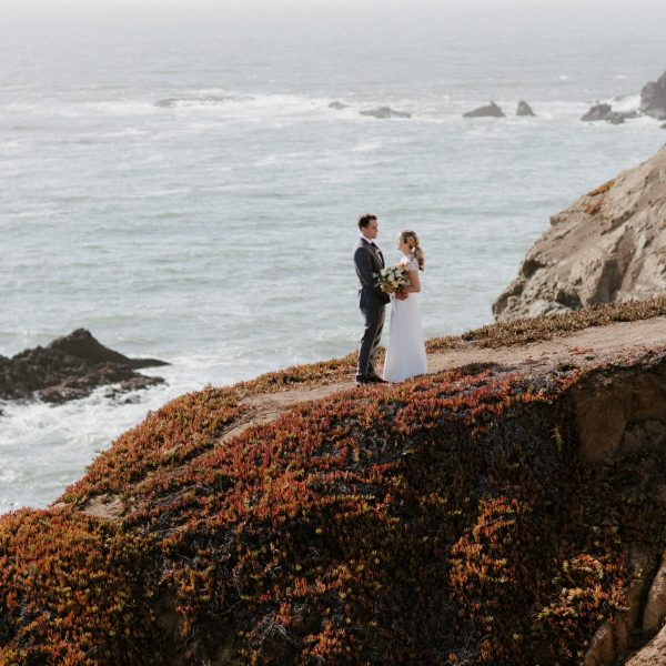 Marin Headlands Elopement // Nancy + Jody