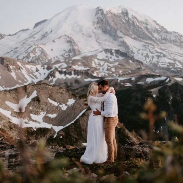 Mt. Rainier Elopement // Ali + Dexter