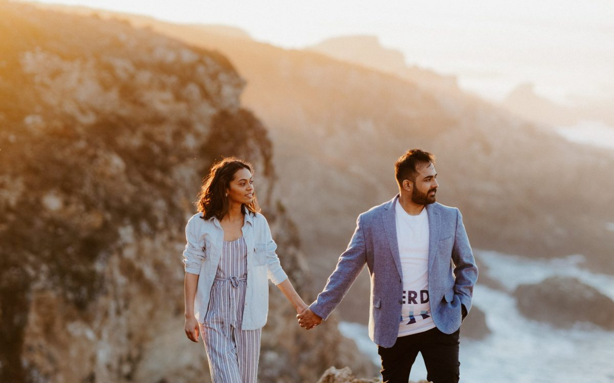Big Sur Engagement and Wedding Portraits // Sayali + Sid