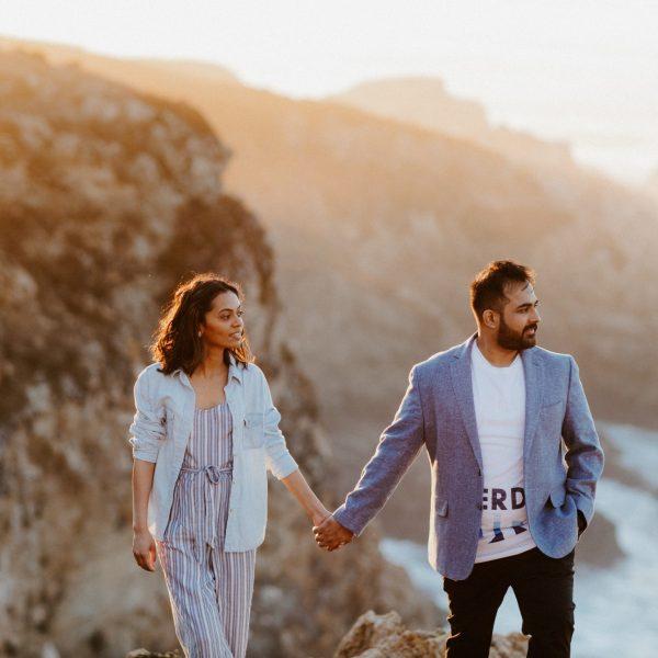 Big Sur Engagement and Wedding Portraits // Sayali + Sid