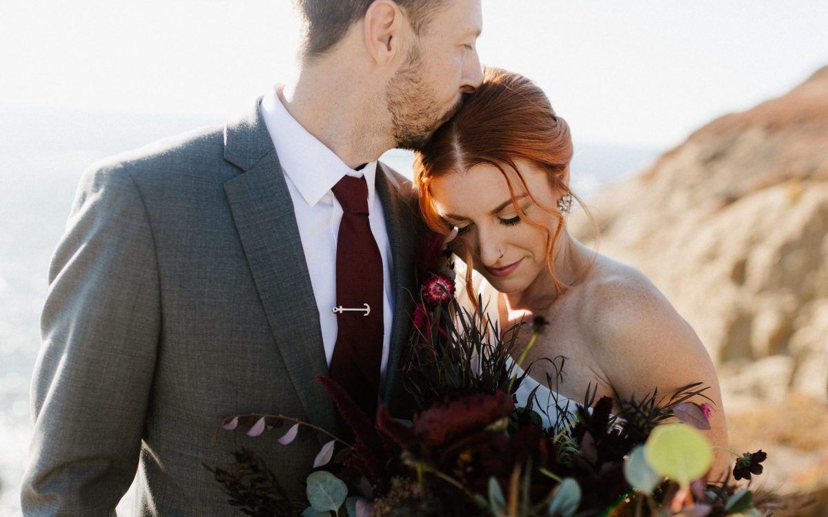 Sausalito Elopement with a Marin Headlands Adventure // Amy + Brent