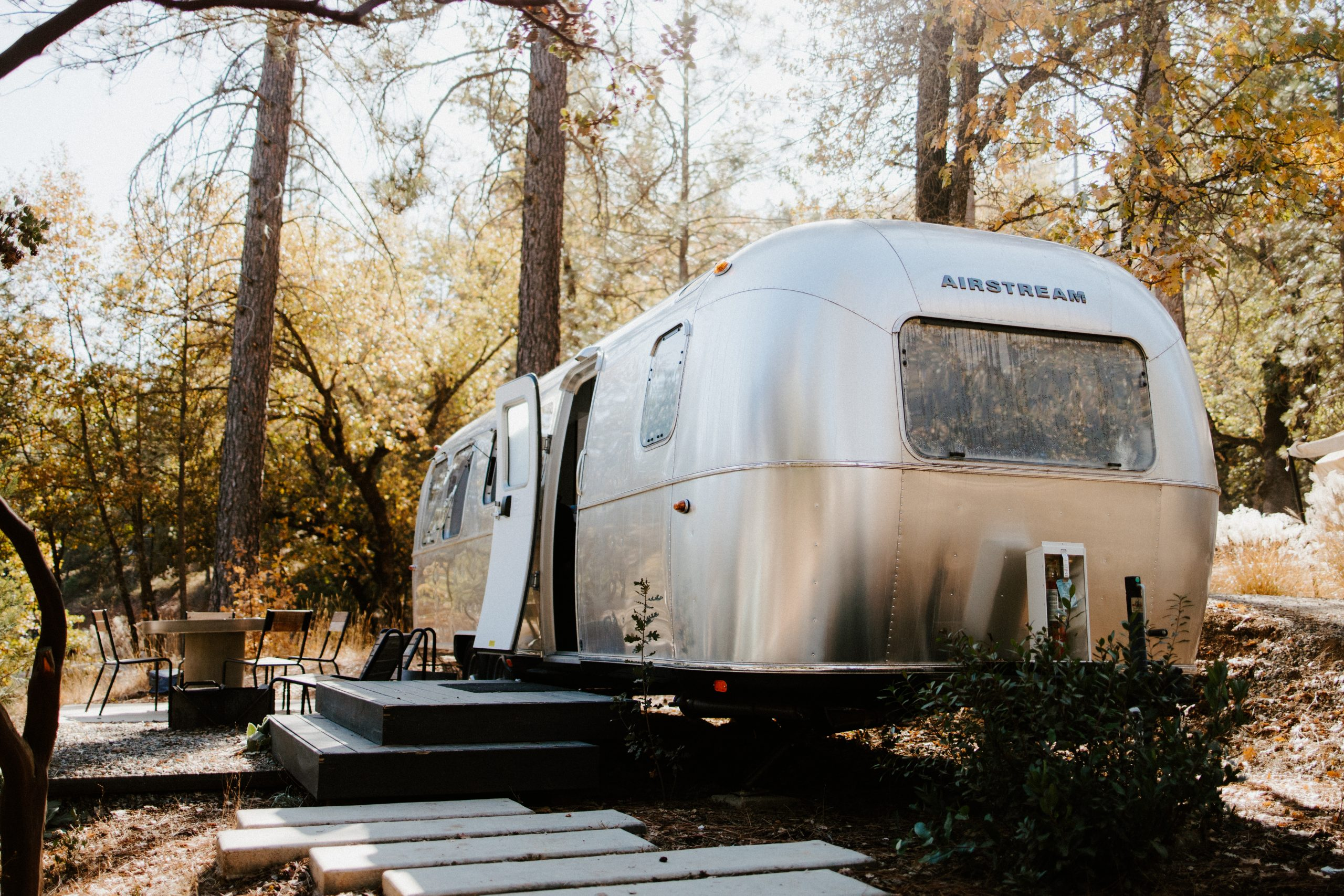 Airstream Camping in Yosemite National Park
