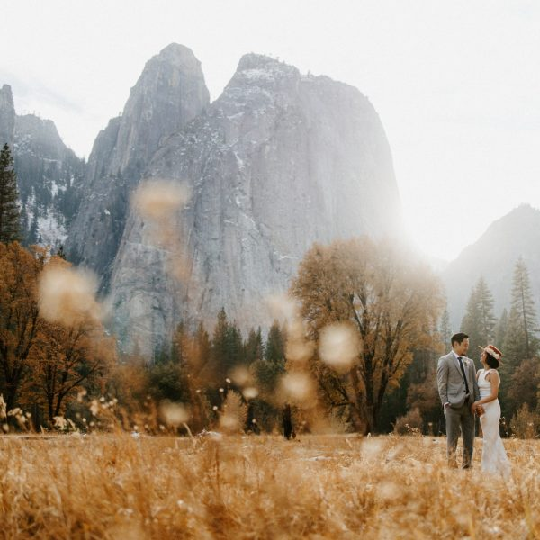 Yosemite National Park Elopement // Mo + Mike