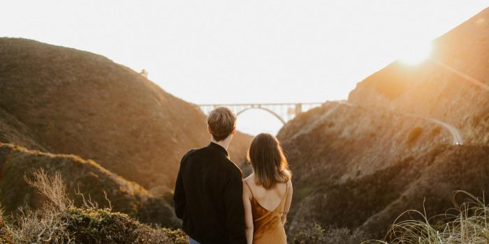 Big Sur Engagement Session // Eleanor + Spencer