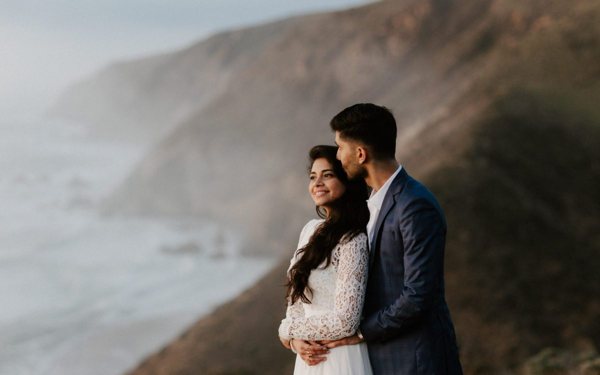 Point Reyes Wedding Portraits // Toral + Jugal